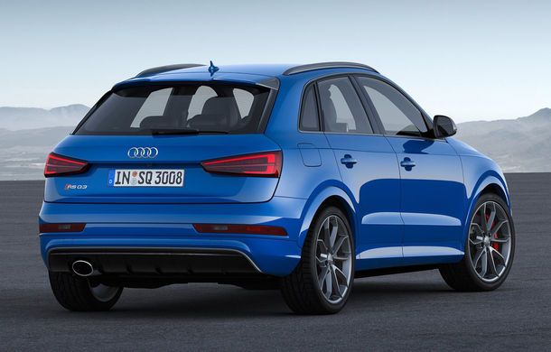 Pocket-Rocket-SUV: Audi RS Q3 Performance oferă 367 de cai putere - Poza 3