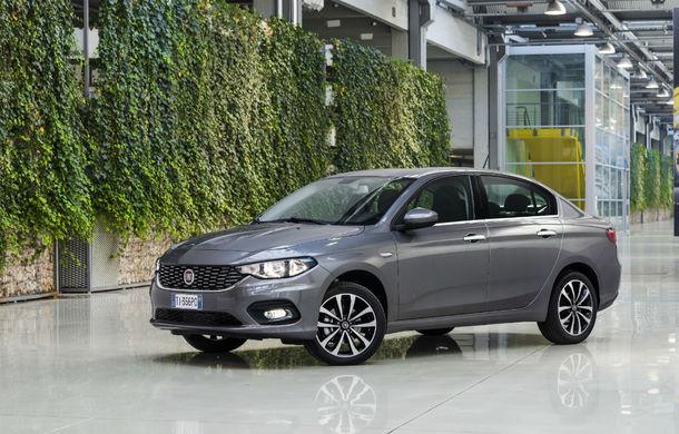 Un nou sedan compact se lansează în România. Noul Fiat Tipo pleacă de la 12.200 de euro, dar vine cu o promoție de lansare - Poza 1