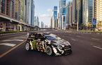Gymkhana 8 s-a copt la soare în Dubai și va debuta alături de Ford Fiesta ST și flota de supercaruri a poliției saudite