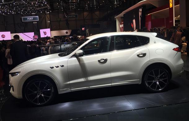 GENEVA 2016 LIVE: Maserati Levante este primul SUV din istoria mărcii italiene de lux - Poza 5