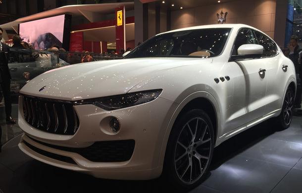 GENEVA 2016 LIVE: Maserati Levante este primul SUV din istoria mărcii italiene de lux - Poza 1