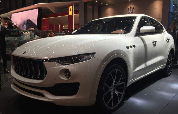 GENEVA 2016 LIVE: Maserati Levante este primul SUV din istoria mărcii italiene de lux - Poza 6