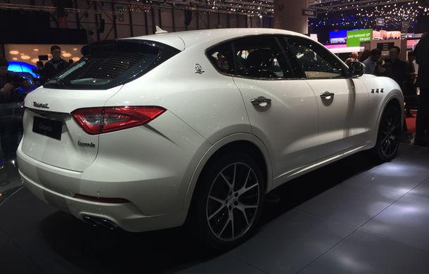 GENEVA 2016 LIVE: Maserati Levante este primul SUV din istoria mărcii italiene de lux - Poza 3