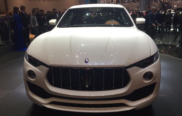 GENEVA 2016 LIVE: Maserati Levante este primul SUV din istoria mărcii italiene de lux - Poza 7