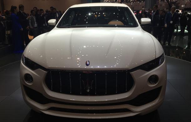 GENEVA 2016 LIVE: Maserati Levante este primul SUV din istoria mărcii italiene de lux - Poza 8