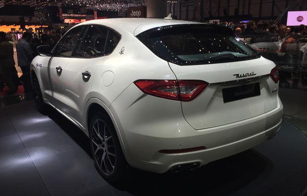 GENEVA 2016 LIVE: Maserati Levante este primul SUV din istoria mărcii italiene de lux - Poza 2