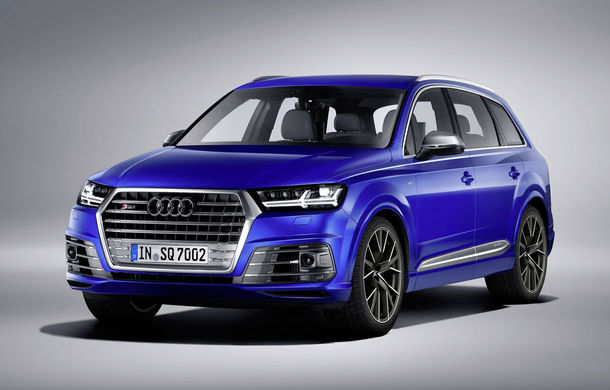 Audi a lansat cel mai puternic SUV diesel din lume: SQ7 oferă 435 de cai putere și un compresor electric - Poza 1