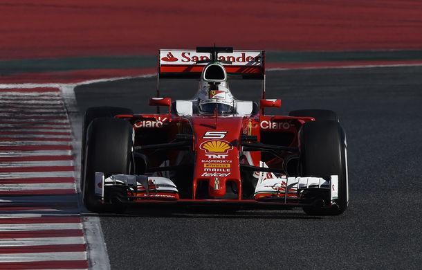Teste Barcelona, ziua 4: Vettel încheie testele pe primul loc - Poza 1