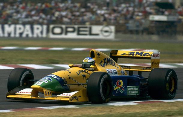 Bucăţică de istorie: monopostul Benetton cu care Schumacher a obţinut primul podium din carieră, scos la licitaţie - Poza 1