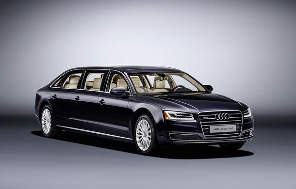 Audi A8 L Extended: șase metri de lux pentru doar șase pasageri - Poza 1