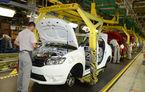 Mai puţine maşini fabricate în România: producţia lui Dacia Logan a scăzut la jumătate, salvarea vine de la Duster