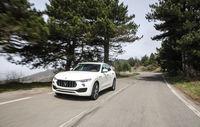 Test drive Maserati Levante