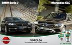 BMW vs. Mercedes astăzi în Autovot: Seria 7 încearcă să elimine GLC în competiția popularității