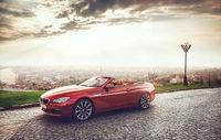Test drive BMW Seria 6 Cabriolet facelift
