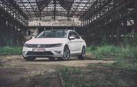Test drive Volkswagen Passat (2014)