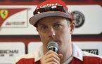 Prelungirea contractului lui Raikkonen, incertă: Ferrari nu se grăbeşte să ia o decizie pentru linia de piloţi din 2017