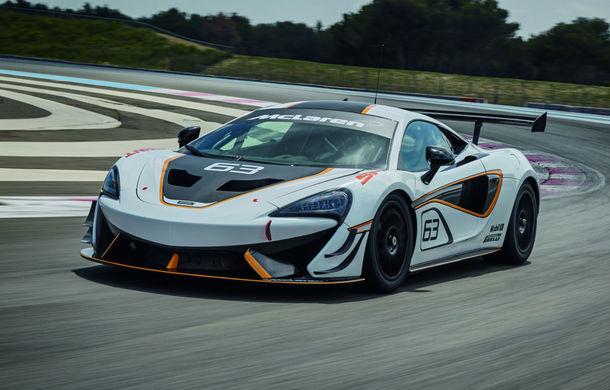 McLaren mută o parte din modelele sale pe circuit, odată cu gama Sprint: primul pe listă este 570S Sprint - Poza 1