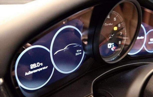 Se spulberă misterul: primele imagini cu noul Porsche Panamera anunță un interior tehnologizat - Poza 5