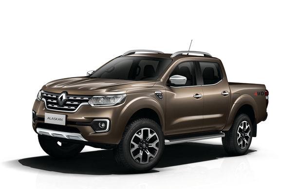 Afaceri de familie: Renault lansează Alaskan, un pick-up înrudit cu Nissan Navara - Poza 1