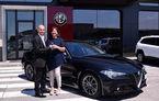 În sfârșit, pe roți: primele exemplare Alfa Romeo Giulia au ajuns la 6 clienți italieni