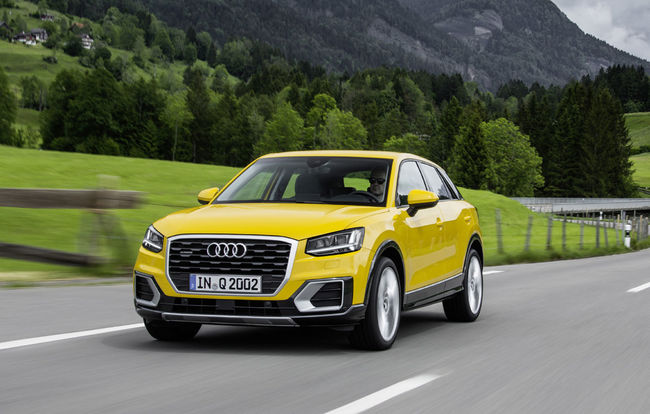 test drive test drive audi q2 gadgetino automarket. Black Bedroom Furniture Sets. Home Design Ideas