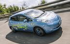 Experimentul care prefaţează viitoarea generaţie: Nissan Leaf, autonomie de 400 km pentru un prototip de curse
