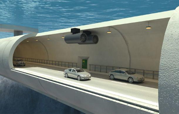 Noi ne chinuim cu autostrăzile, iar norvegienii vor construi tuneluri subacvatice plutitoare - Poza 2