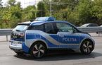 Mașină nouă pentru Poliția Română: BMW i3 devine primul model electric folosit de forțele noastre de ordine