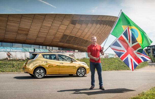 Ai noștri primesc Renault Kadjar, ai lor primesc Nissan Leaf: fiecare englez medaliat cu aur primește o mașină electrică - Poza 3