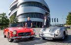 Colaborare Porsche-Mercedes: cele două mărci îți oferă un discount dacă te hotărăști să vizitezi muzeele ambelor branduri la Stuttgart