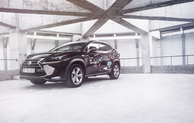 Test drive Lexus NX