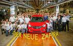 Încă o fisă: Opel a început producția noului Zafira la fabrica din Russelsheim