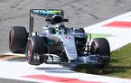 Mercedes surclasează Ferrari pe teren propriu: Rosberg şi Hamilton, cei mai rapizi în antrenamentele de la Monza