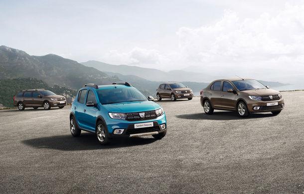 Modelele Dacia au o nouă față: Sandero și Logan au primit un facelift care aduce și lumini LED - Poza 1