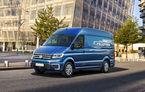 Volkswagen lansează mașina electrică pentru livrări făcute în orașele mari: noul e-Crafter, o utilitară cu 200 de kilometri autonomie