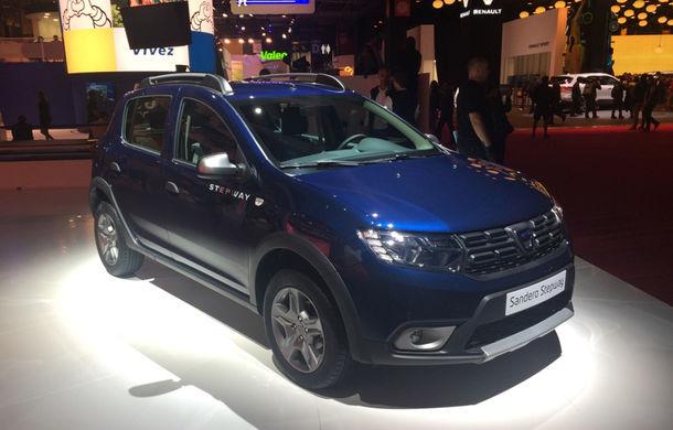 PARIS 2016 LIVE: Modelele Dacia au primit o față nouă, lumini LED și claxon pe volan - Poza 1