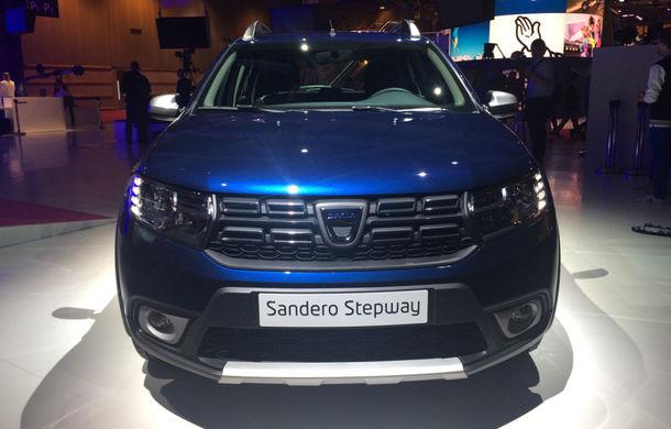 PARIS 2016 LIVE: Modelele Dacia au primit o față nouă, lumini LED și claxon pe volan - Poza 2