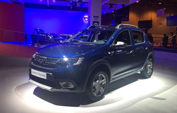 PARIS 2016 LIVE: Modelele Dacia au primit o față nouă, lumini LED și claxon pe volan - Poza 26