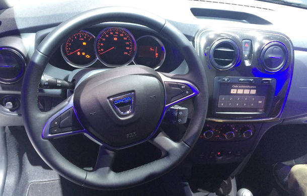 PARIS 2016 LIVE: Modelele Dacia au primit o față nouă, lumini LED și claxon pe volan - Poza 17