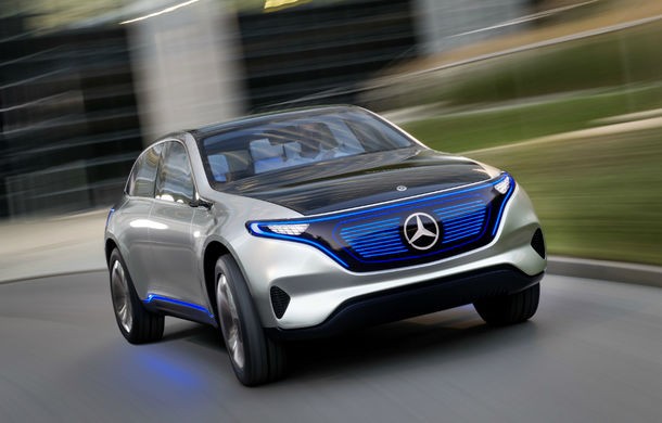 Noua eră Mercedes începe azi: Conceptul Generation EQ anunță un SUV electric și sub-brandul electric EQ - Poza 1