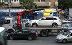 Se schimbă regulile pentru ridicarea maşinilor parcate neregulamentar: Măsuri dure pentru fluidizarea traficului