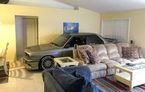 Când mașina se transformă în coleg de cameră: un american a găsit o metodă inedită de a-și proteja BMW-ul de Uraganul Matthew