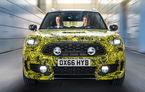 Mini Countryman va avea o versiune hibridă: imagini și detalii cu viitorul SUV englez