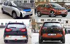 BMW i3 cu malformații: modelul chinezesc Yema B11 este o copie la indigo a electricei germane