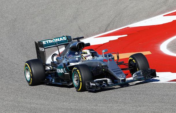 Hamilton redescoperă reţeta succesului şi câştigă în SUA. Rosberg şi Ricciardo completează podiumul - Poza 1