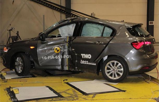 Fiat Tipo dezamăgeşte la EuroNCAP: 3 stele în varianta standard a testului. Sistemul de frânare automată nu funcţionează în oraş - Poza 3