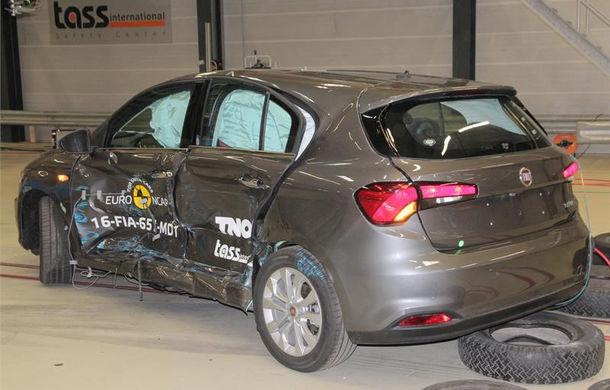 Fiat Tipo dezamăgeşte la EuroNCAP: 3 stele în varianta standard a testului. Sistemul de frânare automată nu funcţionează în oraş - Poza 4