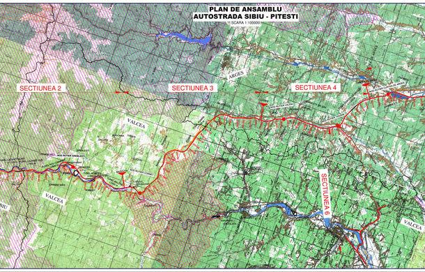 Traseul autostrăzii Sibiu-Piteşti a fost avizat: 6 tuneluri şi 10 noduri rutiere pentru drumul care va lega cele două orașe - Poza 2