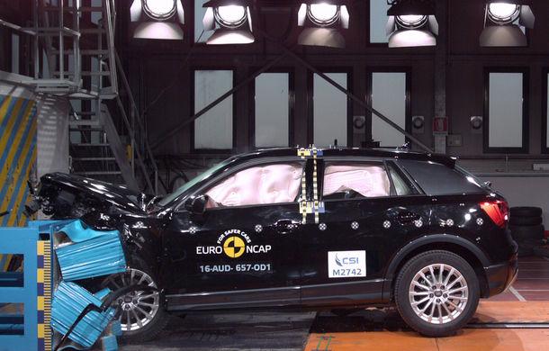 Audi Q2, Ford Edge şi Hyundai Ioniq au primit 5 stele la testele EuroNCAP. Suzuki Ignis, 3 stele in testul standard - Poza 1