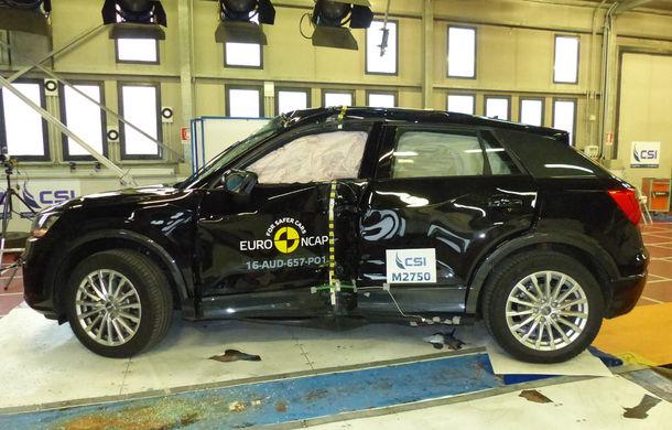 Audi Q2, Ford Edge şi Hyundai Ioniq au primit 5 stele la testele EuroNCAP. Suzuki Ignis, 3 stele in testul standard - Poza 5